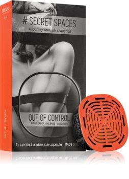 Mr & Mrs Fragrance Secret Spaces Out of Control napełnianie do dyfuzorów kapsułki