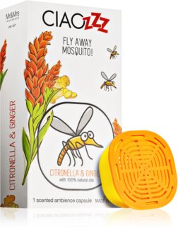 Mr & Mrs Fragrance Ciaozzz Citronella & Ginger aroma für diffusoren kapsel (Mosquito Repellent)
