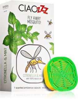 Mr & Mrs Fragrance Ciaozzz Citronella & Mint refill for aroma diffusers capsules (Mosquito Repellent)