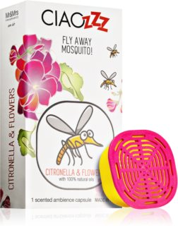 Mr & Mrs Fragrance Ciaozzz Citronella & Flowers пълнител за арома дифузери капсули (Mosquito Repellent)