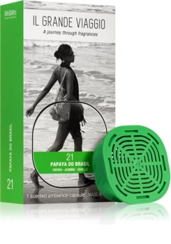 Mr & Mrs Fragrance Il Grande Viaggio Papaya do Brasil refill for aroma diffusers capsules