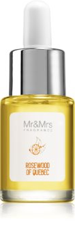 Mr & Mrs Fragrance Blanc Rosewood of Quebec vonný olej