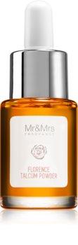 Mr & Mrs Fragrance Blanc Florence Talcum Powder mirisno ulje