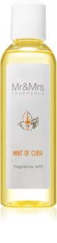Mr & Mrs Fragrance Blanc Mint of Cuba пълнител за арома дифузери