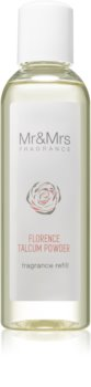 Mr & Mrs Fragrance Blanc Florence Talcum Powder aroma diffúzor töltelék
