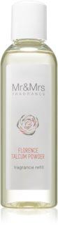 Mr & Mrs Fragrance Blanc Florence Talcum Powder recharge pour diffuseur d'huiles essentielles