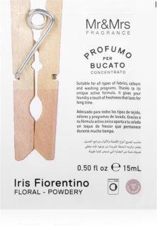 Mr & Mrs Fragrance Laundry Iris Fiorentino koncentrovaná vôňa do práčky