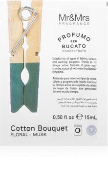 Mr & Mrs Fragrance Laundry Cotton Bouquet koncentreret skyllemiddel til vaskemaskiner