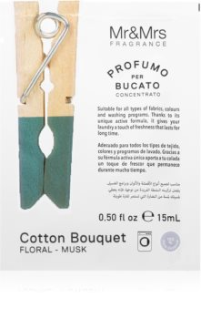 Mr & Mrs Fragrance Laundry Cotton Bouquet συμπυκνωμένο άρωμα για πλυντήρια ρούχων