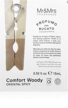 Mr & Mrs Fragrance Comfort Woody fragrância para máquinas de lavar