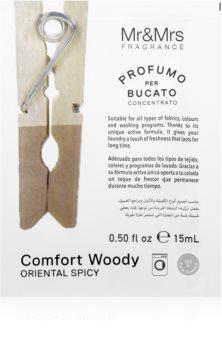 Mr & Mrs Fragrance Comfort Woody parfum concentrat pentru mașina de spălat