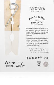 Mr & Mrs Fragrance Laundry White Lily concentrated fragrance for washing machines