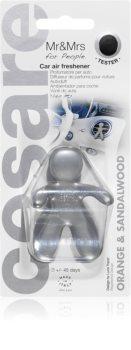 Mr & Mrs Fragrance Cesare Orange & Sandalwood ароматизатор для салона автомобиля