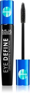 MUA Makeup Academy Eye Define mascara waterproof per ciglia allungate