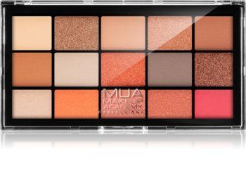 MUA Makeup Academy Professional 15 Shade Palette палитра сенки за очи
