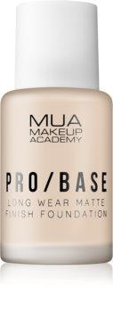 MUA Makeup Academy Pro/Base langanhaltendes mattierendes Make up