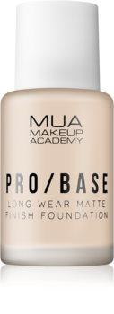 MUA Makeup Academy Pro/Base tartós matt make-up