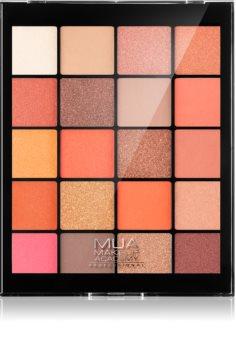 MUA Makeup Academy Professional 20 Shade Palette szemhéjfesték paletta