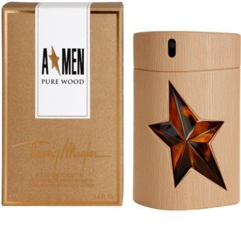 Mugler A*Men Pure Wood eau de toilette para homens 100 ml
