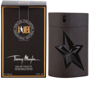 Mugler A*Men Pure Leather eau de toilette pentru barbati 100 ml