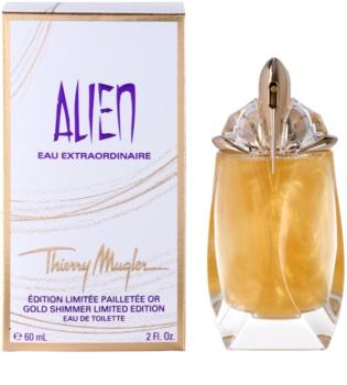 Mugler Alien Eau Extraordinaire Gold Shimmer Limited Edition toaletní voda pro ženy