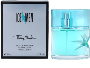 Mugler Ice Men eau de toilette para hombre 50 ml