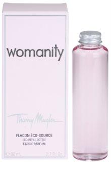 MUGLER Womanity Eau de Parfum påfyllningsbara Spray 80ml