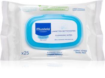 Mustela Bébé Toillete toallitas limpiadoras para el rostro