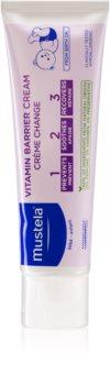 Mustela Bébé cremă de protecție împotriva petelor inflamate