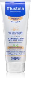 """Mustela Bébé Soin Body lotion mit Anteilen von """"Cold-Cream"""""""