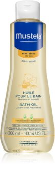 Mustela Bébé Dry Skin olio da bagno