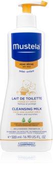 Mustela Bébé Toillete lait démaquillant pour enfant