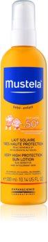 Mustela Solaires ochranné mlieko pre deti SPF 50+