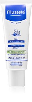 Mustela Bébé Crème voor Kinderen  voor Haarschilfers