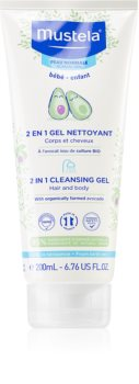 Mustela Bébé Reinigungsgel für Haut und Haar für Kinder