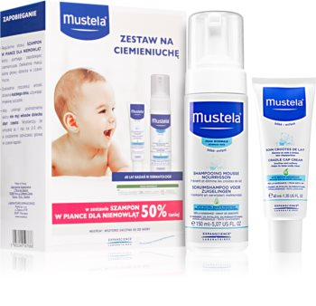 Mustela Bébé козметичен комплект (за деца от раждането им)