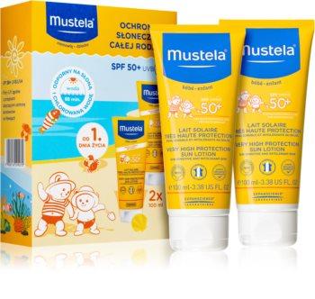 Mustela Solaires козметичен комплект I. за деца