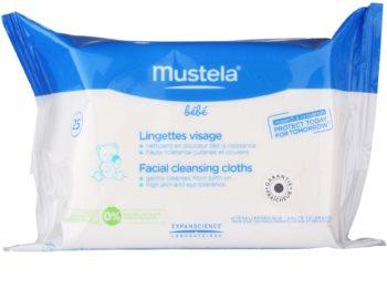 Mustela Bébé Toillete čisticí ubrousky na obličej
