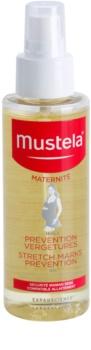 Mustela Maternité huile traitante pour prévenir les vergetures
