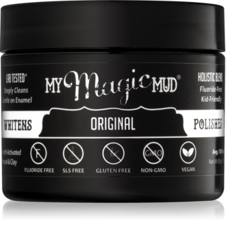 My Magic Mud Activated Charcoal poudre dentaire blanchissante au charbon actif