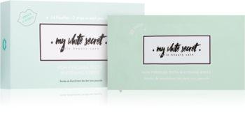 My White Secret Whitening Strips bělicí zubní pásky