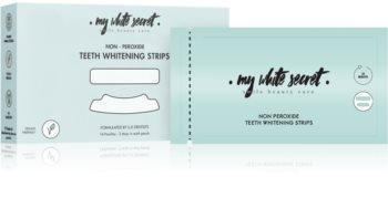 My White Secret Whitening Strips trakice za izbjeljivanje zuba