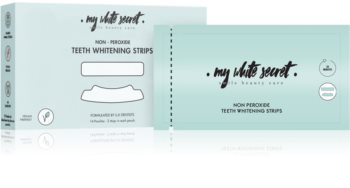 My White Secret Whitening Strips Zahnweisser-Zahnpasta