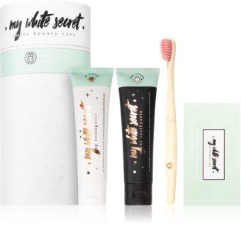 My White Secret Smile Beauty Care Zahnpflegeset (für ein strahlendes Lächeln)