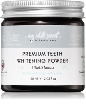 My White Secret Whitening Powder Puder für weißere Zähne für empfindliche Zähne