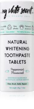 My White Secret Toothpaste Tablets bleichende Zahnpasta