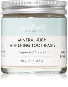 My White Secret Mineral - Rich bleichende Zahnpasta mit Mineralien