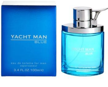 Myrurgia Yacht Man Blue Eau de Toilette για άντρες