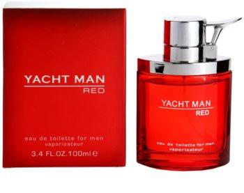 Myrurgia Yacht Man Red woda toaletowa dla mężczyzn