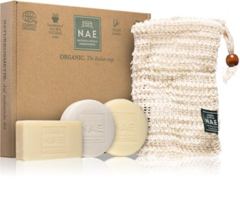 N.A.E. Solid Box Gift Set (for Face, Body and Hair)